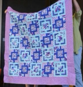 Quilt purple & pink