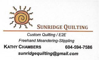Sun Ridge Quilting